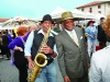 Chaz & Mayor Mr.Willie Brown Performing at the Fort Mason FM-Grand Opening